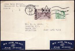 Canada - 1967 - Lettre - Envoyé En Argentine - Covers & Documents