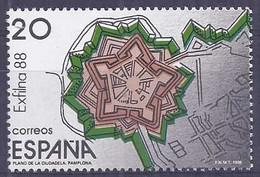 Spain 1988 - Exfilna 88 Ed 2956 (**) Sello - 1981-90 Nuovi