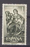 Spain 1963 - Navidad Ed 1535 (**) - 1961-70 Nuovi