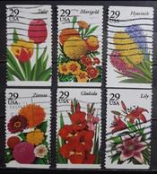 ESTADOS UNIDOS 1993- 1994 Flores - Flora. USADO. - Gebraucht
