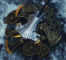 "Mjolnir ""Asgard"". Thor's Hammer. Hand Forged Steel - Volksschmuck"
