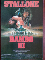 CINEMA - RAMBO III (Affiche) - Sylvester STALLONE ... - Plakate Auf Karten