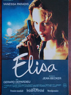 CINEMA - ELISA (Affiche) - Vanessa PARADIS - Gérard DEPARDIEU ... - Plakate Auf Karten