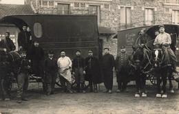 MILITARIA , Carte Photo  , 18 Em Escadron Du Train , Villeneuve Le Roi 94 , - Regimenten