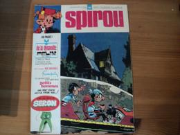 SPIROU N°1905 DU 17 / 10 / 1974. PREMIER PLAT DE SERON MINI RECIT DE M. TILLIEUX / L ONCLE PAUL / FRANQUIN / PETITS HOM - Spirou Magazine