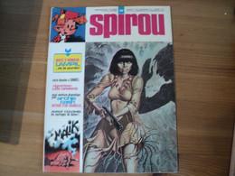 SPIROU N°1907 DU 31 / 10 / 1974. PREMIER PLAT DE MALIK VIGNETTES CENTRALES LES DAYAKS / DANIEL / ARCHIE CASH / FRANQUIN - Spirou Magazine