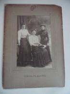 Foto Drie Vrouwen Raymond Chardome 11 Rue Mercator St Nicolas 1906-1912 - Non Classificati