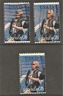 United States - Scott #1630 Used - 3 Different - Gebraucht