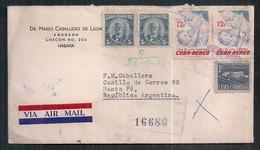 Cuba - Enveloppe De Timbre Moderne En Circulation - Covers & Documents