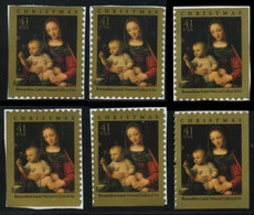 Etats-Unis / United States (Scott No.4206 - Noël / 2007 / Christmas Madonna) [**] All Positions - Ungebraucht