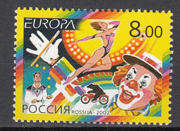 Rusland  Europa Cept 2002 Postfris - 2002