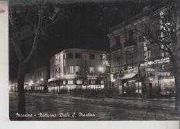 MESSINA VIALE S. MARTINO NOTTURNO NIGHT VG  1955 - Messina