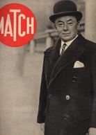 Match N°91 3à Heures De Crise Ministérielle - Promotion De Guerre à St-Cyr - La R.A.F. Bombarde à Sylt - La Mecque 1940 - 1900 - 1949