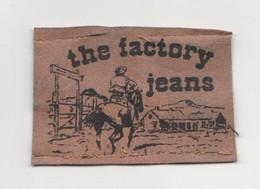 The Factory Jeans Vintage ETICHETTA TOPPA PATCH STOFFA - Escudos En Tela