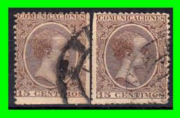 ESPAÑA.- (REINADO DE ALFONSO XIII) -&- SELLOS AÑO 1889-1899  ALFONSO XIII TIPO PELON - Used Stamps
