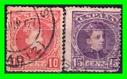 ESPAÑA.- (REINADO DE ALFONSO XIII) -&- SELLOS AÑO 1901-1905  ALFONSO XIII TIPO  CADETE - Used Stamps