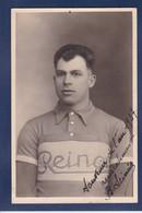 CPA Cyclisme Autographe Signature à L'encre Non Circulé Photographe Vénissieux Scinia - Wielrennen