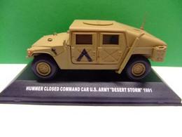 """HUMMER CLOSED COMMAND CAR U.S. ARMY """"DESERT STORM"""" 1991 DeA - Altri"""