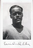 Leônidas Da Silva († 2004) Brazil World Cup 1934 & 1938 - Autograph - Autographe -  15x10 Cm - Autographes
