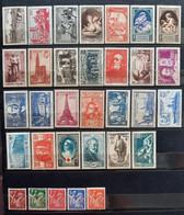 France 1939 Année Complète De 32 Timbres **TB Cote 343€ - ....-1939