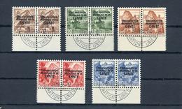 1948, Schweiz Weltgesundheitsorganisation OMS, 1-5 (2), Cto - Dienstpost