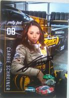 Carrie Schreiner ( Race Car Driver) - Authographs