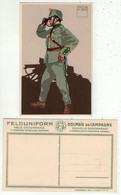Armée Suisse // Carte Postale Militaire, Caporal Mitrailleur D'Infanterie - Andere