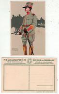 Armée Suisse // Carte Postale Militaire, Sergent, Artillerie De Campagne - Andere