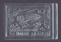 1972 Sharjah 1063b Silver Future Space Projects 12,00 € - Asia
