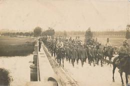 Carte Photo Pont De Belleray (55 Meuse) Cliché Qui A Servit Pour La Carte Postale Des 250 Prisonniers - (texte Détaillé) - Altri Comuni