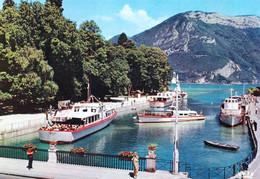 74 - Haute Savoie -  ANNECY - Le Port Et Les Bateaux - Annecy