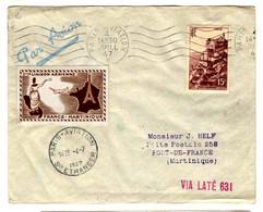 53052 -  Vol FRANCE  MARTINIQUE - Eerste Vluchten