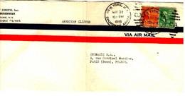 53057 - Par Avion Pour La France - Covers & Documents