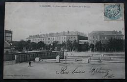 CPA Loire-Atlantique - Saint-Nazaire (44600) Le Pont Roulant – La Caserne De La Douane – Collection Delaveau – Animée - - Saint Nazaire