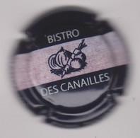 Capsule Champagne TRICHET Pierre { N°2e : Bistro Des Canailles } {S42-21} - Non Classificati