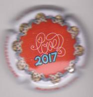 Capsule Champagne RUFFIN & Fils { N°50a : Saint-Valentin 2017 } {S42-21} - Non Classificati