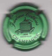 Capsule Champagne COTHIAS Jérome { N°5a : Vert Métallisé Et Noir } {S42-21} - Non Classificati