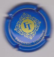Capsule Champagne TORCHET Frédéric { N°6 : Bleu Et Or } {S42-21} - Non Classificati