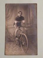 Cyclisme / Carte Photo F. Bridelance Binche / Charles Deruyter? - Wielrennen