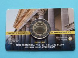 2017 > 200 Jaar UNIVERSITEIT GENT > Koninklijke Munt Van België ( Zie Foto's > For Grade, Please See Photo ) ! - Belgien