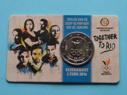 2016 > TOGETHER TO RIO De Janeiro > TEAM Belgium > Koninklijke Munt Van België ( Zie Foto's > For Grade, Voir Detail ) ! - Belgien