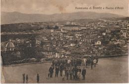 303-Bronte-Catania-Sicilia-Panorama E Piazza D'Armi-Ed.Garioni-Piacenza-v.1917 X Roma - Catania