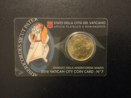 Coincard N°07 - 2016 / 0,50 € - Vatikan