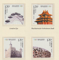 China 2008 Beijing Olympic Games 4 Stamps MNH/** (H72) - Verano 2008: Pékin