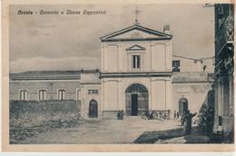 304-Bronte-Catania-Sicilia-Convento E Chiesa Cappuccini-Ed.D'Andrea S.+Dalle Nogare E Armetti-Milano-v.1941x Militello - Catania