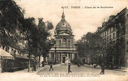 N°86238 -cpa Paris -chapelle -place De La Sorbonne- - Kirchen