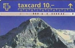 # SWITZERLAND P24 Panorama Eiger-Mönch-Jungfrau 10 Landis&gyr 12.92 Tres Bon Etat - Schweiz