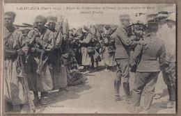CPA MAROC - CASABLANCA GUERRE 1914 - Départ Des Troupes Actives En France , Première Division Du Maroc Général Blondlat - Casablanca