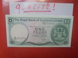 SCOTLAND-ECOSSE(ROYAL BANK) 1 POUND 1979 Neuf-UNC (B.25/1) - 1 Pound