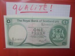 SCOTLAND-ECOSSE(ROYAL BANK) 1 POUND 1983 Neuf-UNC (B.25/1) - 1 Pound